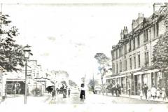 Edwardian street scene